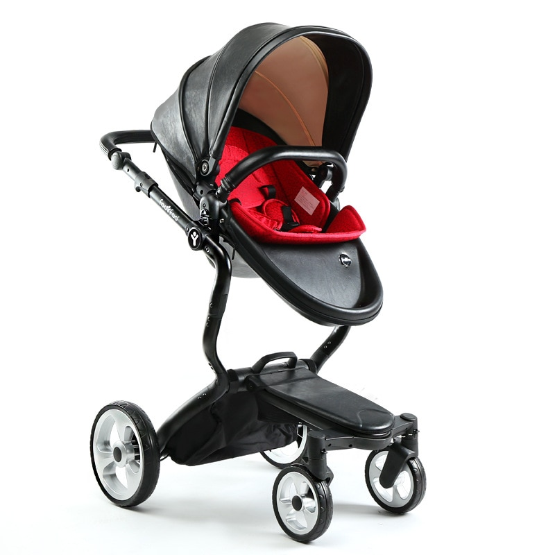 Travel Baby Stroller High Landscape Baby Stroller and Car Seat Reversible Pushchair Four-wheel Baby Cart Luxury Stroller 0-36M