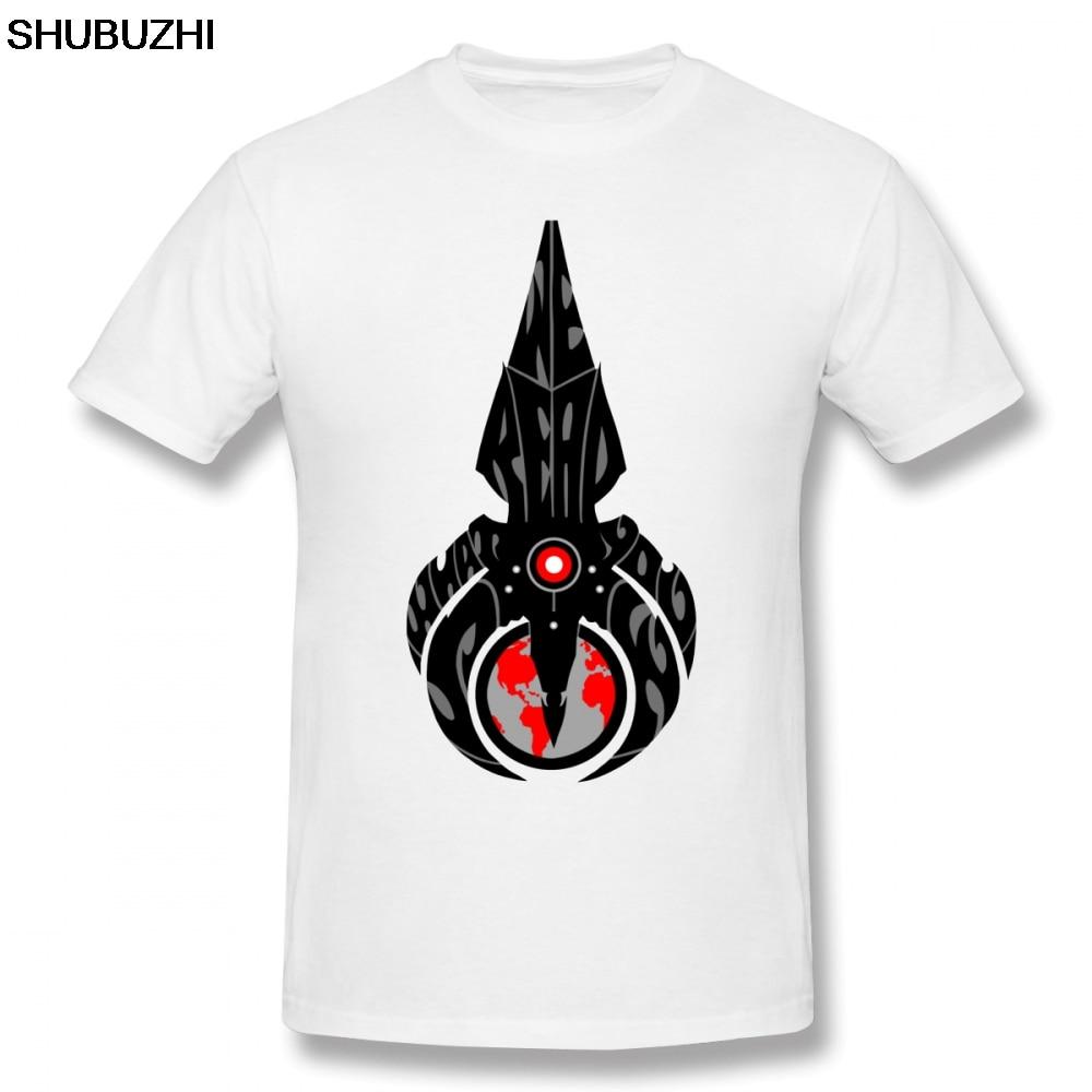 Mass Effect T Hemd Wir Ernten Was Sie Sau T-Shirt Plus größe Grundlegende T-shirt Lustige Mann Baumwolle Kurze- hülse Grafik T-shirt
