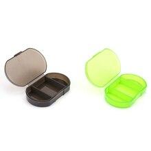 1PCS Tragbare 3 Grids Mini Pille Box Pillen Medizin Drogen Fall Box Geheimnis Stash Pill Container Werkzeug