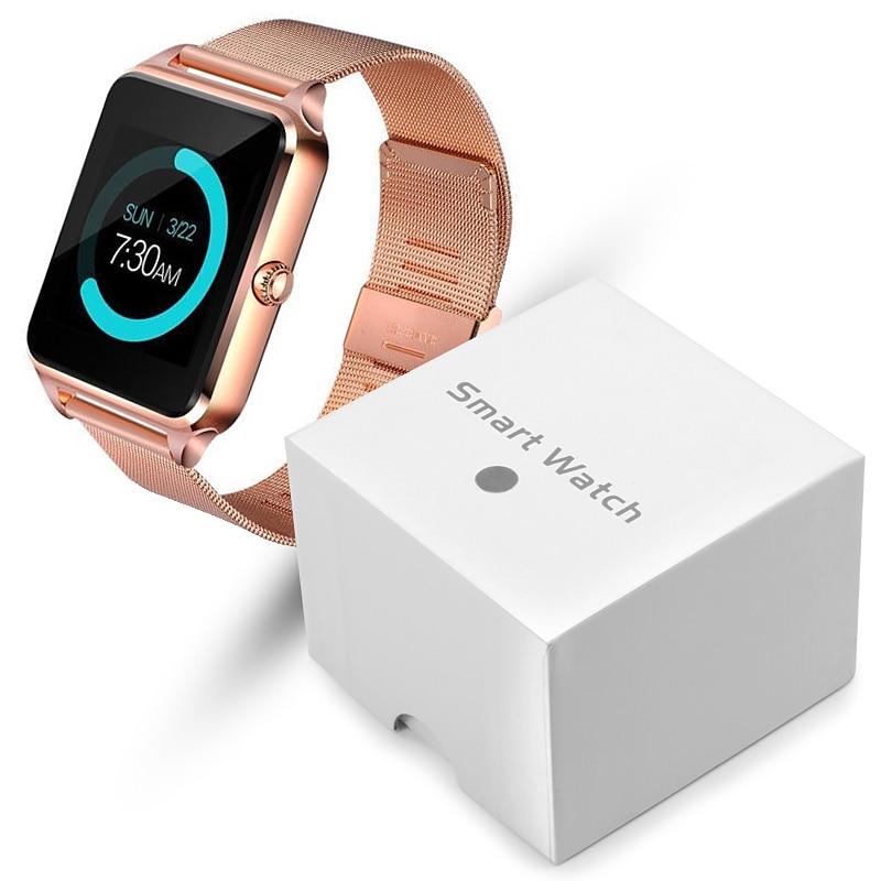Z60 Smart Watch GT08 Plus Metal Strap Bluetooth Wrist Smartwatch Support Camera Sim TF Card Android&IOS PK Y1 S8 X7D DZ09 V8 A1