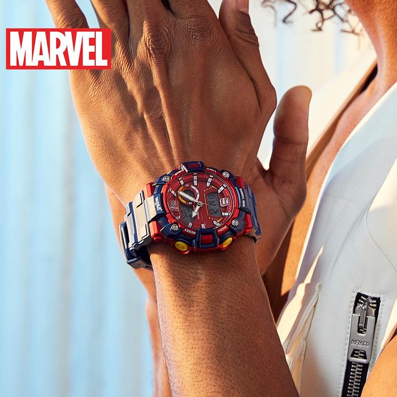 Authentic Disney Marvel Watch Commemorative Limited Edition Spider-Man Sports Men's Waterproof Disney Digital Watch enlarge