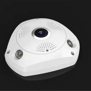 3MP 1536P 360 Degree 3D  VR Panoramic View IP Camera Fish Eye Lens WIFI Camera Home Security Surveillance Camera