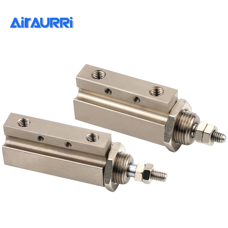 AIRAURRI tipo cilindro neumático componentes golpe cilindro CDJPB15-5D 15-10D 15-15D 10-5D 10-10D 10-15D 6-5D 6-10D 6-15D