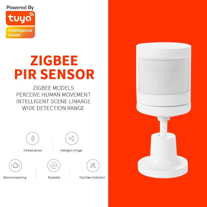 tuya zigbee pir sensor smart wireless wifi pir motion sensor detector home alarm system smart with tuya zigbee hub app control Tuya ZigBee PIR Sensor IFTTT Battery Powered Smart Wireless WIFI PIR Motion Sensor Detector Home Alarm System ZigBee PIR Sensor