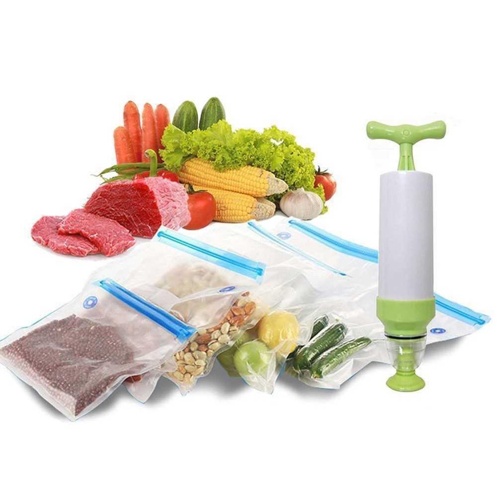 Бытовой ручной вакуумный упаковщик, пищевой вакуумный упаковщик, кухонный пищевой машина для упаковки фруктов, лучший вакуумный упаковщик,...