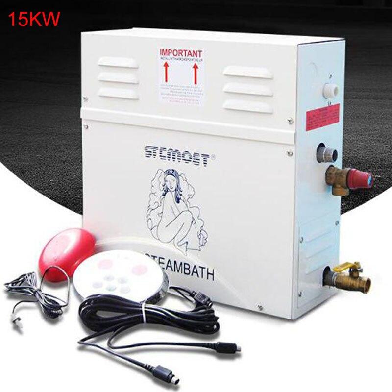 مولد بخار منزلي ، 15 كيلو واط ، 18 كيلو واط ، 220 فولت ، 380 فولت ، مع جهاز تحكم رقمي للبخار الرطب