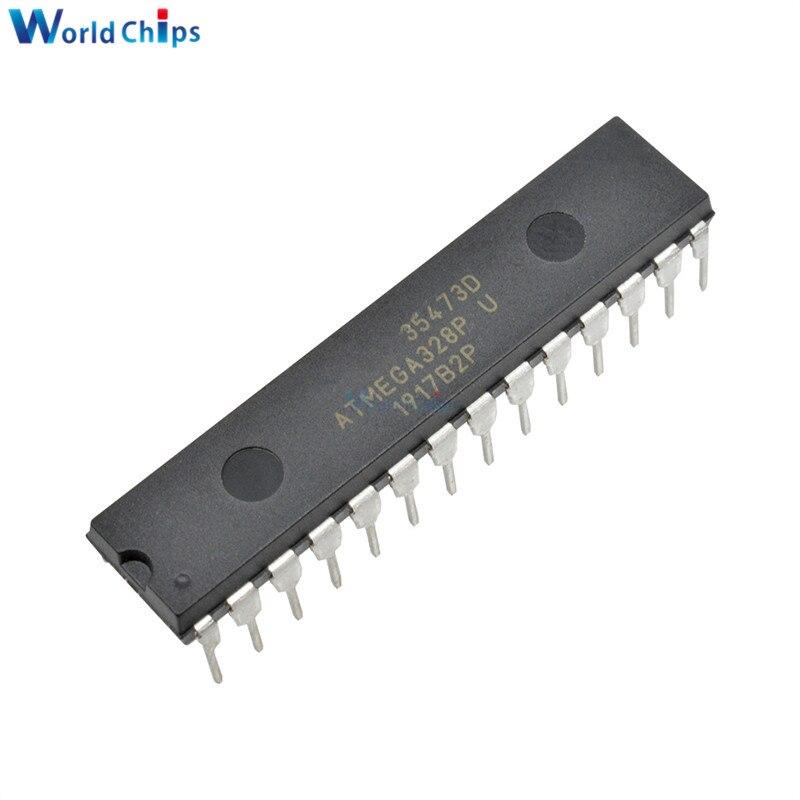 10 шт./лот ATMEGA328P-PU чип IC ATMEGA328 328P микроконтроллер DIP-28 для Arduino