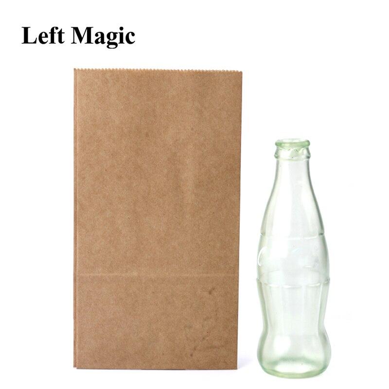 Vanishing Cole botella vacía magia trucos Coke etapa Close Up ilusiones accesorios mentalismo diversión magia accesorios clásico juguete truco
