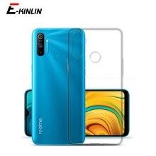 Silikon Telefon Fall Für Oppo R15x RX17 R17 R15 Neo Realme C3 C2 3i 3 5 5s 5i 6 6S XT X2 Pro Klar TPU Zurück Abdeckung