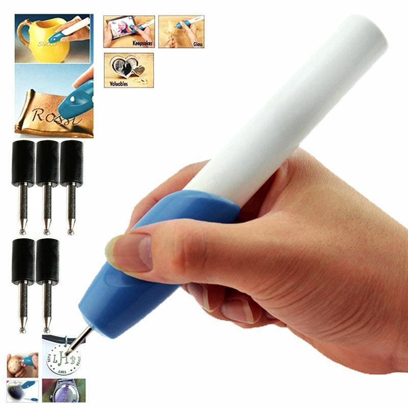 Herramientas de grabado de pluma de grabado de precisión eléctrica inalámbrica DIY