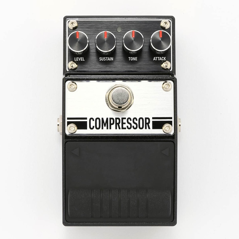 BAC Compressor Guitar Audio Effect Pedals with Clear Sound Strain Sensor and USB Power Supply
