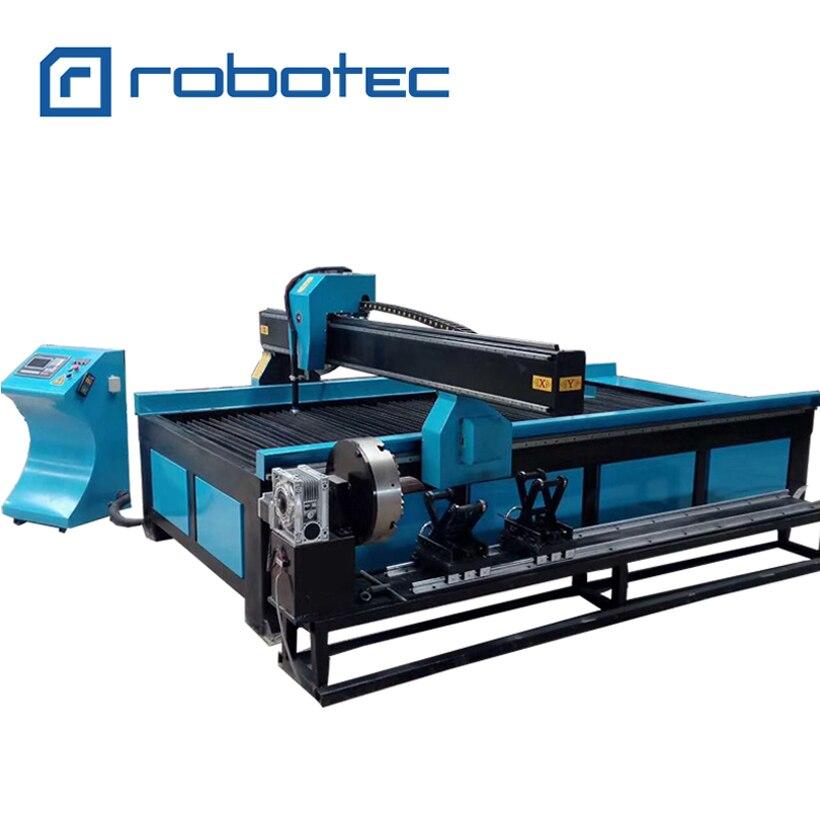 Máquina de Corte do Plasma do Cnc da Elevada Mini para o Corte 1530 do Metal Precisão 1325