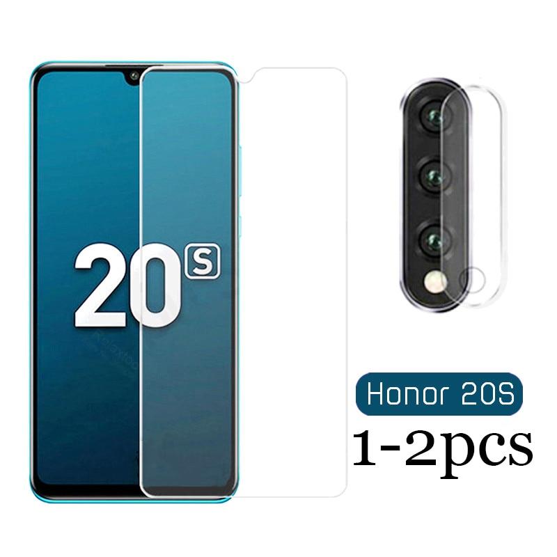 Vidrio templado para Huawei honor 20 S 20 lite 20Pro Protector de pantalla de cristal para honor 20 s 20 lite vidrio Protector Ligero 1-2pcs película