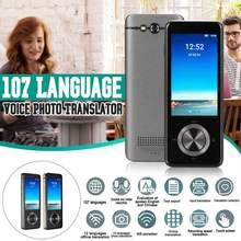2020 nouveaux traducteurs vocaux traducteur de langue hors ligne en temps réel traducteur vocal intelligent appareil photo instantané Portable-traduction