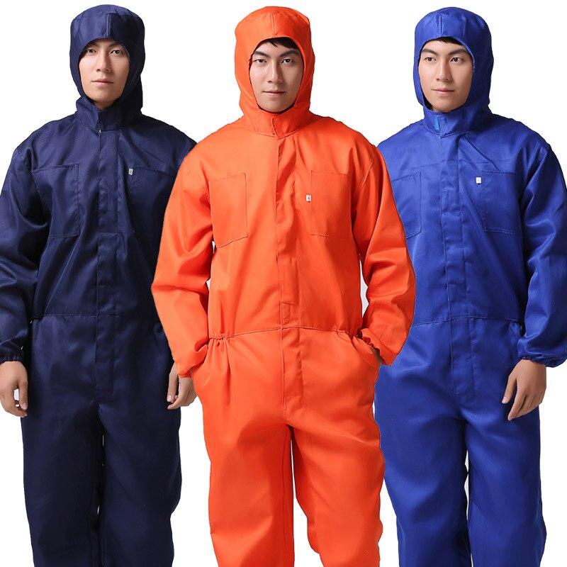 ملابس عمل رفيعة للرجال ملابس صيفية طويلة الأكمام قابلة للتنفس واقية من الغبار ملابس عمل آلة إصلاح السيارات