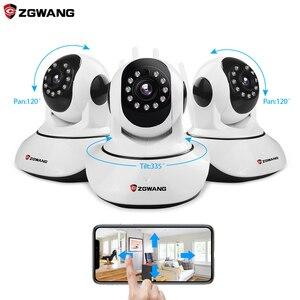 ZGWANG X6 Wireless IP Camera 720P Network CCTV Security Camera WiFi Wi-fi Video Surveillance Cameras IR-Cut Night Vision Audio