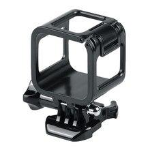 لانظار الإطار جبل واقية الإسكان غطاء حماية ل GoPro بطل 4 5 جلسة كاميرا الملحقات قابل للتعديل الألياف كاميرا # E25