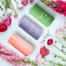 1pc Green Tea Cleansing Mask Stick Cleansing Mud Mask Moisturizing Deep Cleansing Smear Mask Ice Cre