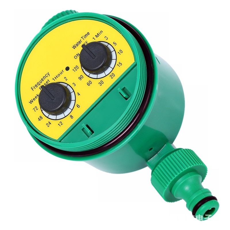 Garden watering programmable valve hose faucet watering timer automatic timer irrigation controller system sprinkler controller