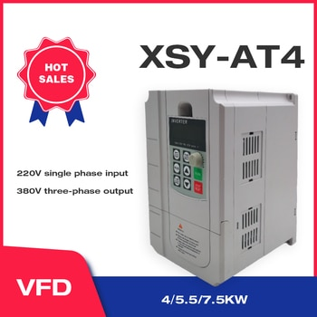 CoolClassic VFD Inverter 5.5KW 220V In and 380V Out Single Phase 220V Household Electric Input and Real Three-Phase 380V Output2