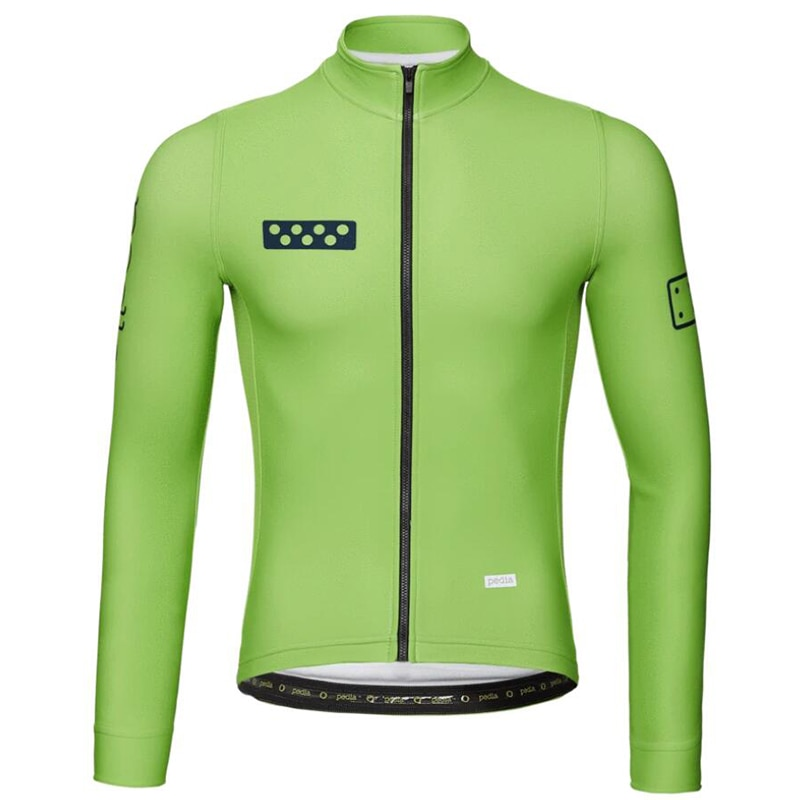 Maillot de manga larga para ciclismo, chaqueta de estilo fino para primavera...