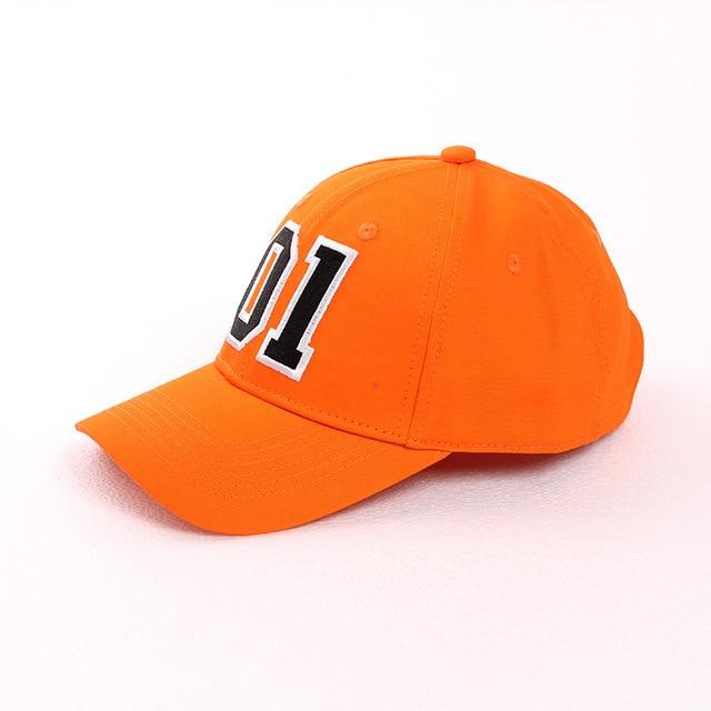 General Lee 01 Embroidered Cotton Cosplay Hat Orange Good OL' Boy Dukes Baseball Cap Adjustable 4