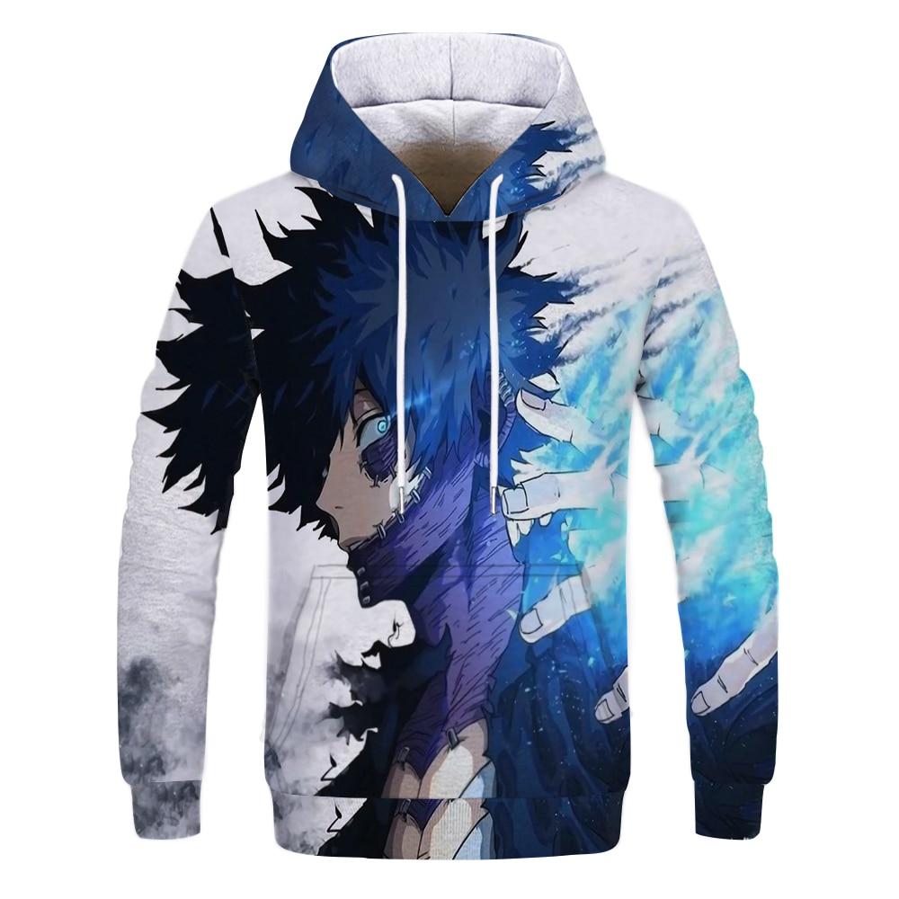 My Hero Academia Boku No Hoodie 3D Printed Men Women Children Hoodies Streetwear Hooded Anime Sweatshirts