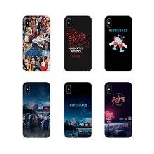 Riverdale lado sul legal silicone telefone capa de pele para huawei g7 g8 p8 p9 p10 p20 p30 lite mini pro p inteligente mais 2017 2018 2019