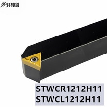 1 pièce STWCR 1212H11 STWCL1212H11 haute qualité CNC tour porte-outil coupe