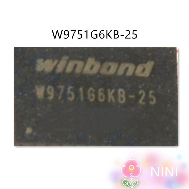 W9751G6KB-25 W9751G6KB-18 100% Original Novo