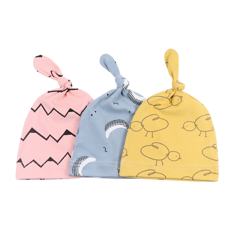 3pcs baby cotton romper set infant newborn boys girls cartoon animal costume clothing sets cute jumpsuit hat pants barboteuse Baby Hat Beanie Boys Infant Hat Newborn Cap Cotton Hats Cute Cartoon Clothing Accesories For Toddler Elastic Infant Cap