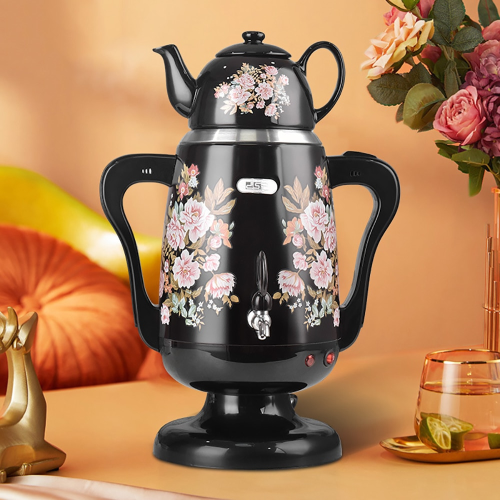 New Arrival 4.5L Enamel Large Capacity Household Double Kettle Automatic Power Off Long Mouth Pot Teapot Coffee