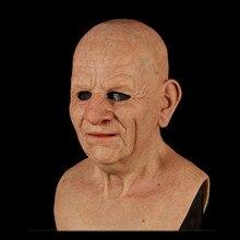 Autre moi-lancien Halloween vacances masques drôles effrayant fête Cosplay fournitures Supersoft vieil homme adulte masque carnaval Horrible