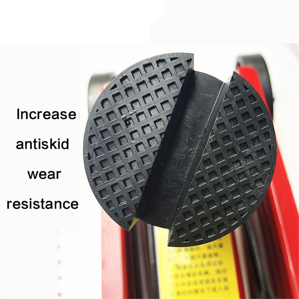 Soporte de coche J a ck soporte de goma almohadillas J ack disco hidráulico J a ck soporte de goma negra almohadilla de suelo patín de cabeza