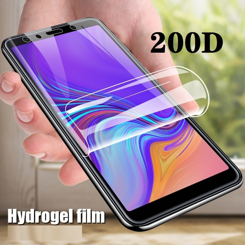 Protective Glass For Samsung Galaxy A3 A5 A7 2017 A6 A8 Plus 2018 Hydrogel Film On Galaxi A 3 5 7 6 8 3a 5a 7a 6a 8a