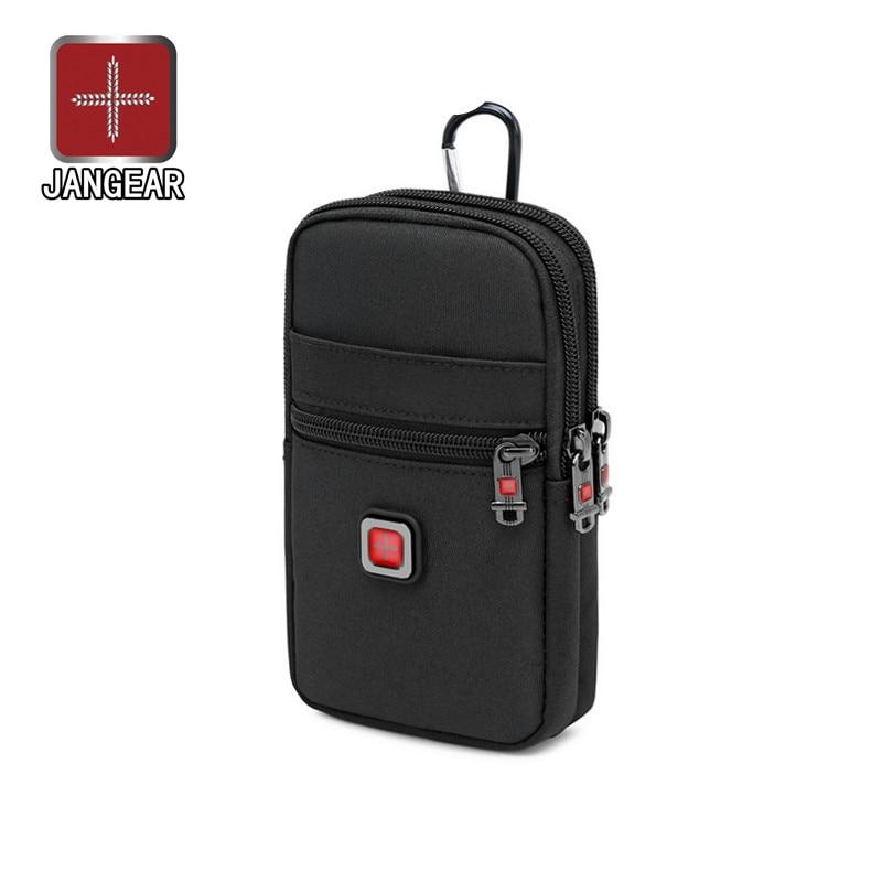 Сумка JANGEAR мужская с карманами, маленький рюкзак на плечо 6-7 дюймов, с вертикальным ремнем мобильный телефон, мобильный телефон