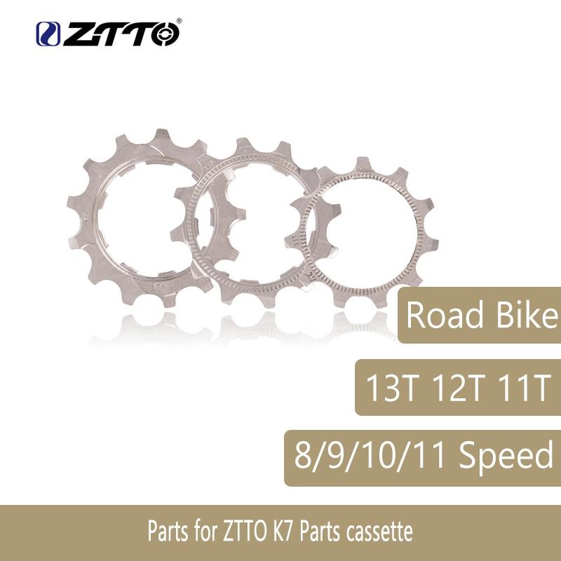 1 Uds bicicleta de engranaje de bicicleta de carretera MTB 8 9 10 11 velocidad 11T 12T 13T rueda libre piezas para ZTTO K7 partes Cassette