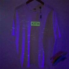 Streetwear Réfléchissant Kith T-shirt Hommes Wome 11 Top qualité KITH Top T-Shirts Streetwear T-shirt tshirt
