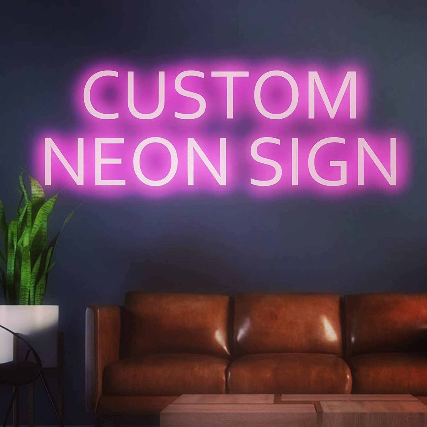 Personalized Neon Signs Upon Request, Customize Your Sign Here Handmade Signs Custom Neon Sign Party Office Wedding and Bar