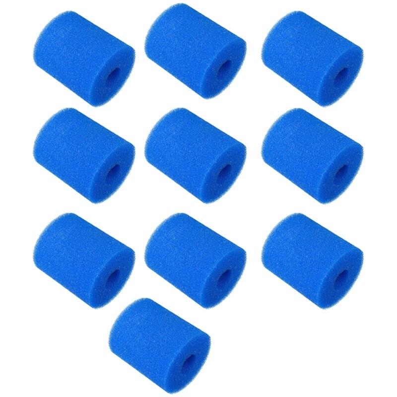 10 Uds reemplazos de filtro de esponja para Cartucho de filtro de...