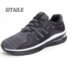 SITAILE, zapatos casuales de moda para hombres, zapatillas transpirables cómodas para caminar, ligeras, para exteriores, resistentes, antiolor