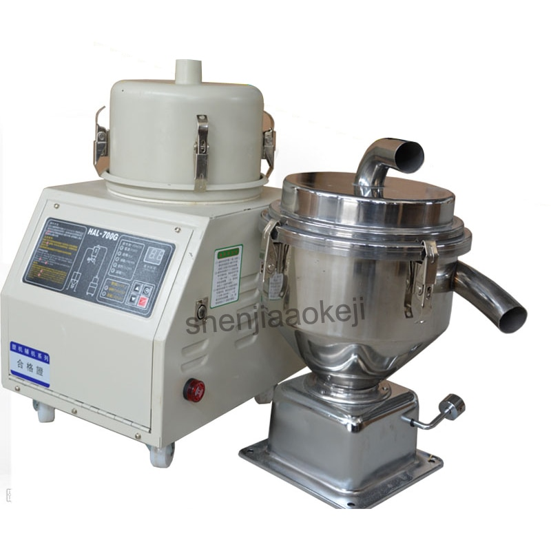 1 unidad 700G máquina de succión de vacío máquina de alimentación de llenado automático 1200W máquina de moldeo por inyección de pellets de plástico 220V