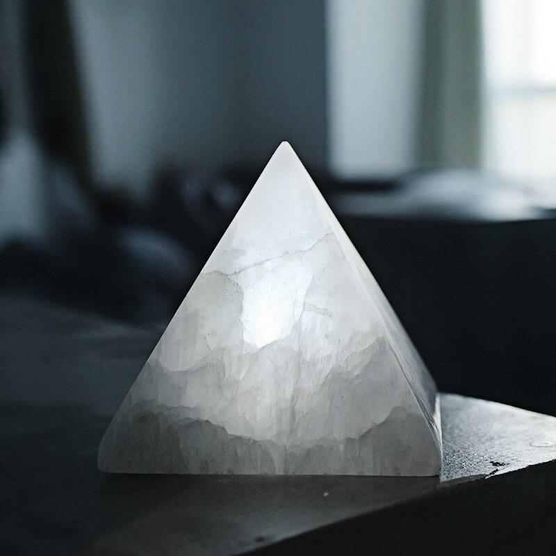 USB Pyramid Ore Charging Induction Creative Night Light Ins Nordic Bedside Table Lamp Romantic New Strange LED Lamp Lava Lamp enlarge