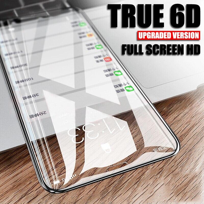 Vidrio de cubierta completa para iPhone 7 8 Plus vidrio templado 7 Plus 8 Plus 6D borde curvado Protector de pantalla para iPhone7 Plus i7P película