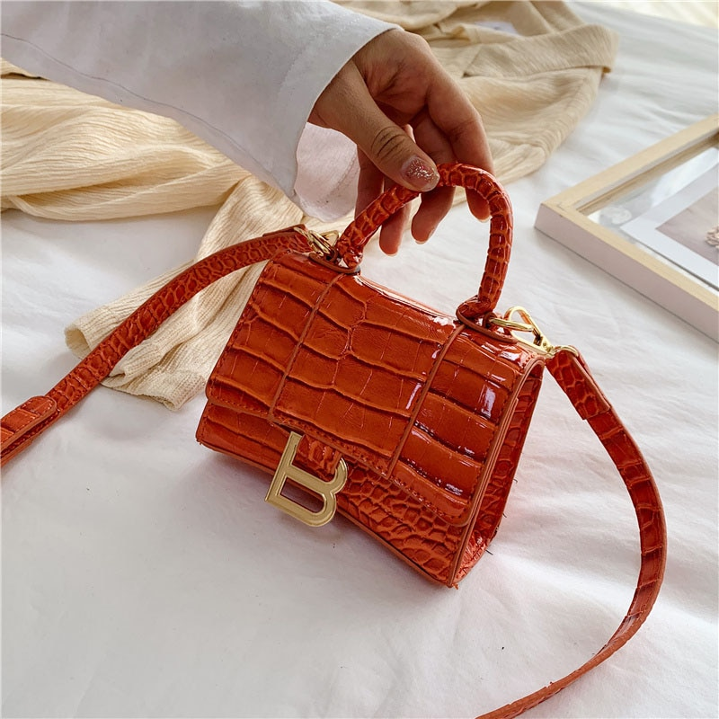 Brand Shoulder Bag For Women 2020 Stylish Crossbody Bags Designer PU Leather Handbags New Mini Ladies Pures Female Messenger Bag