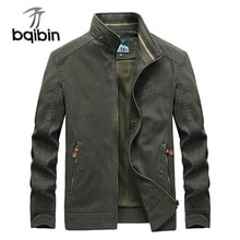 Quality Casual Jacket Men Jp Embroidery Cotton Spring Autumn Mens Jackets Army Green Military Coats