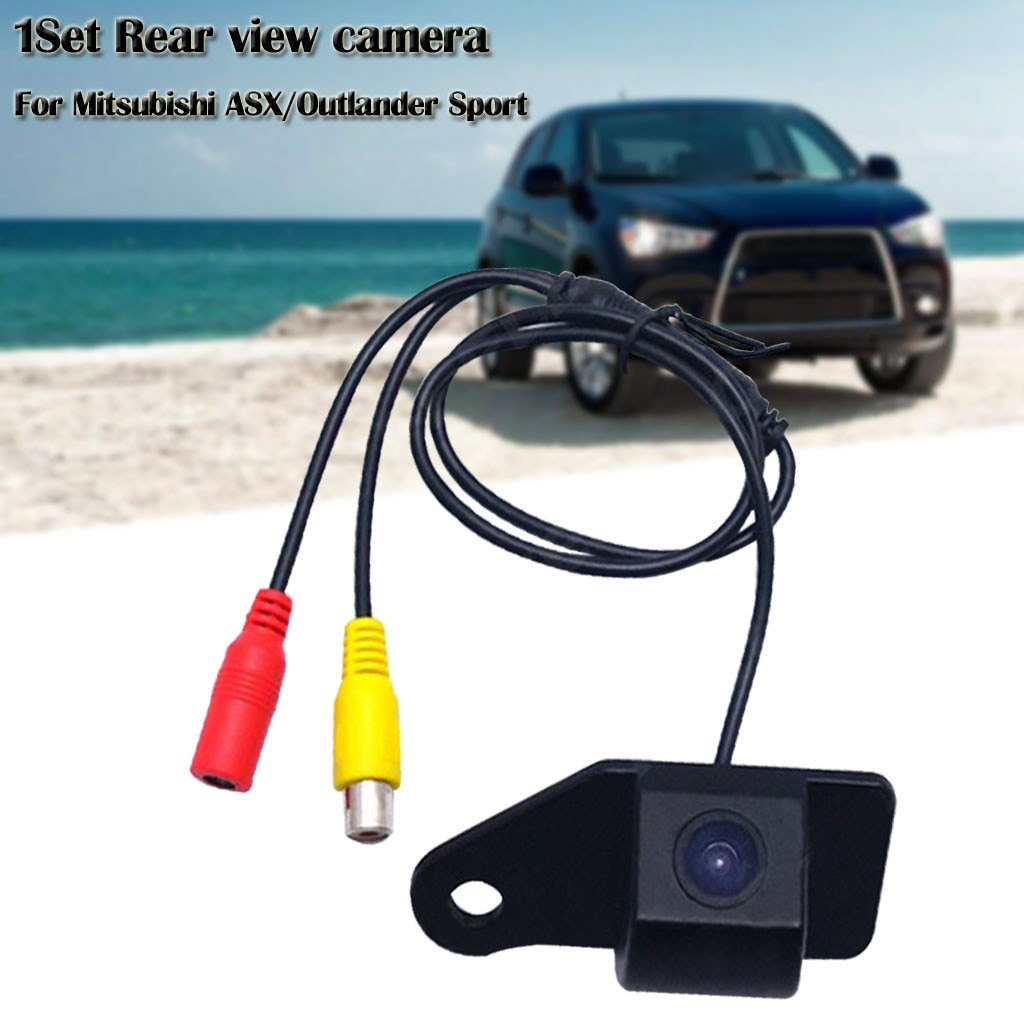 Nuevo coche cámara de visión trasera para marcha atrás para Mitsubishi ASX/Outlander Sport 2011-2015 cámaras камера заднего вида