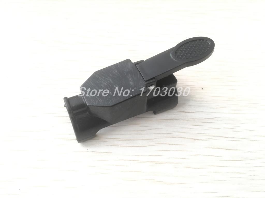 Tig soldagem tocha de plástico primavera carregado interruptor escudo capa 1 pçs