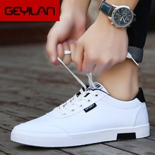 Men shoes 2019 new fashion casual students white board shoes men trend of breathable canvas shoes sn