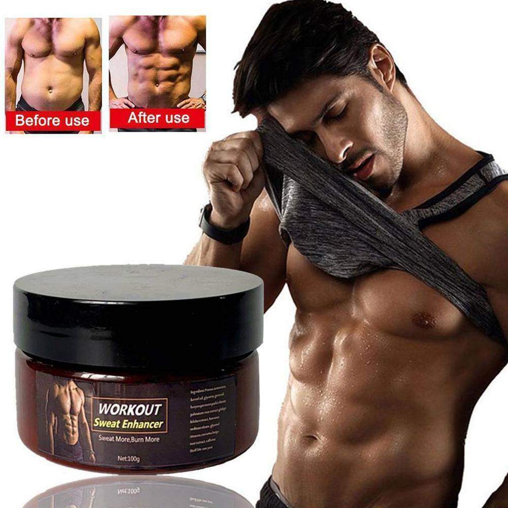 50/100g Fitness Fat Burning Cream Unisex Sweat Weight Slim Waist Creams Products Arm Belly Loss Fat